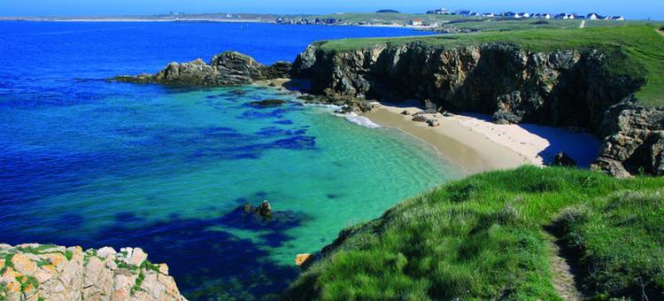 Camping en Bretagne sud au bord de mer : Le plaisir du sable tiède