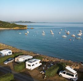Camping bord de mer Bretagne