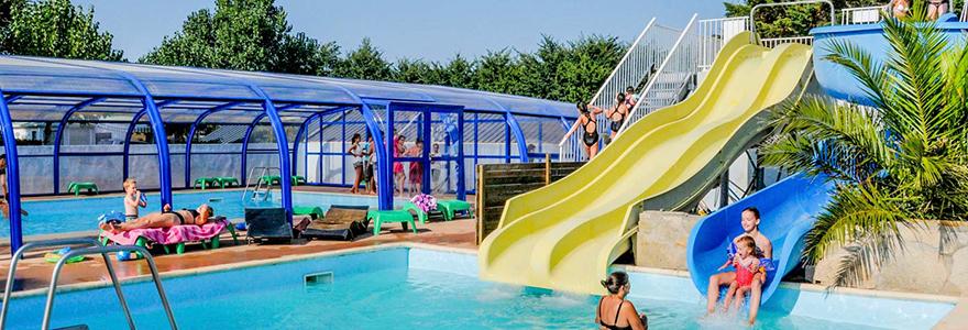 Dans un camping en bretagne nord profitez de vos vacances - Camping sud bretagne avec piscine ...